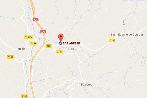 map Adesse