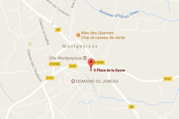 map Pascal Puech