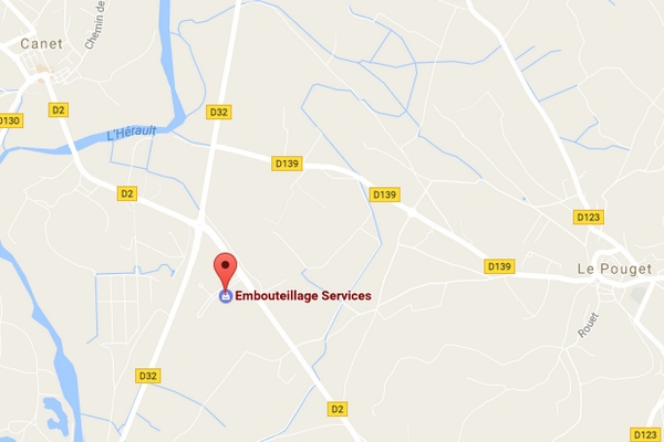 map embouteillage services