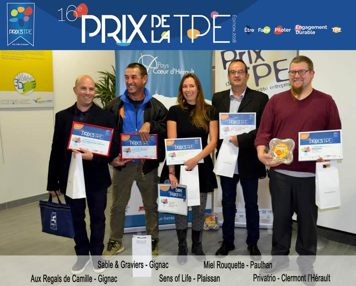 Prix tpe 2018-laureats