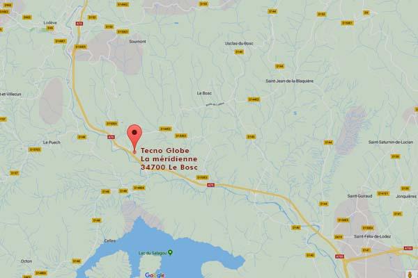 map Tecno Globe